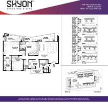 Ireo Skyon Sector-60, Gurugram (Gurgaon) 3BHK MR3 Floor Plan