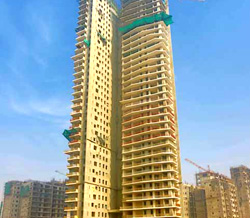 Ireo Skyon Sector-60, Gurugram (Gurgaon), 38th floor slab in progress